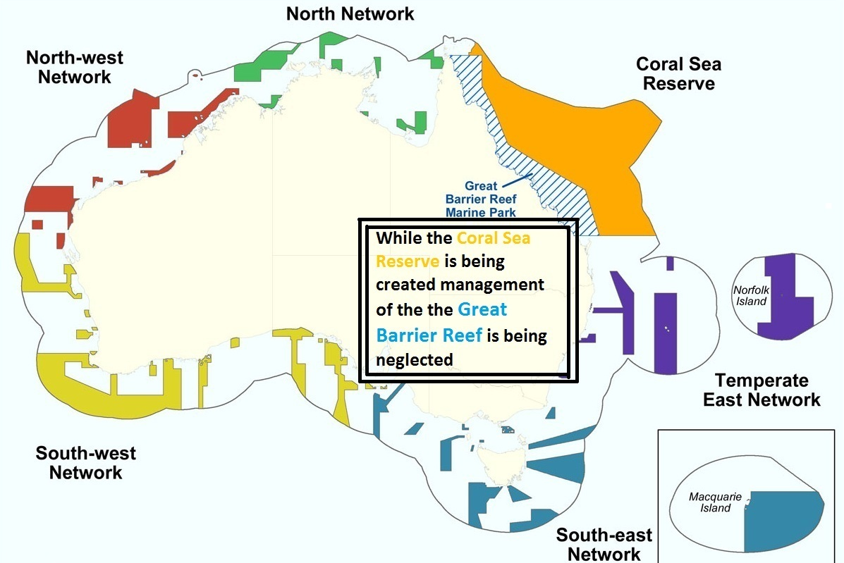 Gran Barrera de Coral Área de Patrimonio Mundial, Australia